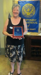 Chyrl Hillis -- SICC's Soroptimist of the Year for 2012/13