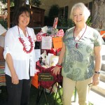 MarleneWilkinson and Carol Jones-Giannini with the prize baskets