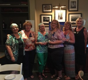 President Karen Strand, Pam Satterfield, Cindy Burns, Vicki Smith-Becker, Wendy Cookson & Barbara Draper, Membership Committee