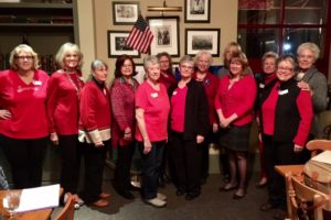 SICC members recognize February as Heart Health Month by wearing red to their February 1, 2017 meeting.