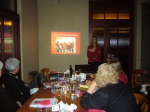 Dr. Courtney Virgilio, Mark Twain Heart Center, shared a powerpoint presentation about Women's Heart Health